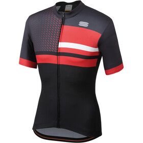 Sportful Team 2.0 Drift Jersey Uomo, black/anthracite/red